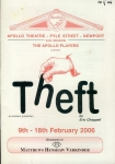Theft by Eric Chappell 2006 APOLLO Theatre Programme refb100884