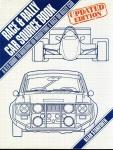 Race & Rally Car Source Book 1988 updated edition HAYNES F572 HB DJ  VGC ref098 (1)