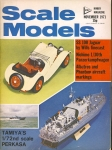 Scale Models Hobby Magazine November 1971 ref001