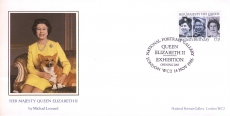 1986 LTD EDITION no.4005 National Portrait Gallery Opening Her Majesty Queen Elizabeth II cover