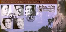 2002 LTD EDITION Golden Jubilee Accesssion Kenya 1952 HM Queen Elizabeth II Benham Cover shs