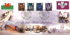 1999 Bradbury Ltd Edition The first Welsh Definitives stamp cover