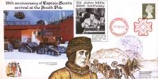 1988 75th anniversary Captain Scott South Pole Arctic Circle cover