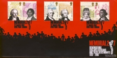 2007-03-22 Ltd Edition Bletchley Park Memorial Abolition of the Slave Trade FDC refalbB10