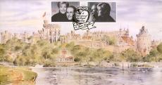 1999 Royal Wedding Majesty Official Ltd Edition FDC Windsor refalbB10