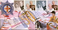1997 Ltd Edition Royal Golden Wedding Official FDC by Cover Collection THE MALL refalbB10