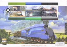 2004 Steam Bicentenary Cover Classic Locomotives Stamps MALLARD Kings Cross REFB5417
