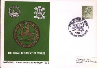 1971-06-11 National Army Museum Group 1 no.7 Royal Regiment Wales refB16