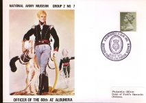 1971 Officer of the 60th Albuhera BFPO Army Museum Cover refB39