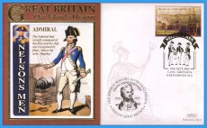 2008 Our Islands History cover Admiral Horatio NELSONS MEN GRENADA Trafalgar rc89