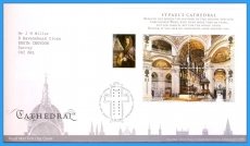 2008-05-13 Cathedral Stamps minisheet FDC refc73