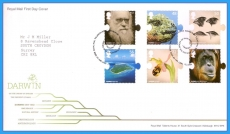 2009-02-12 Darwin Stamps FDC refc87