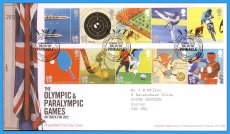 2010-07-27 2012 Olympic and Paralympic Games Stamps FDC refc115