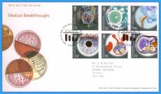 2010-09-16 Medical Breakthroughs Stamps FDC refc118