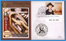 2008 Our Islands History cover 'SNUB' Nautical Sayings Trafalgar rc133