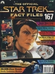 The Official Star Trek Fact File no.167 Paramount Publication never used