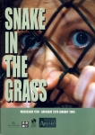 Snake in the Grass 2003 Guildford's Yvonne Arnaud Theatre Programme refb1182