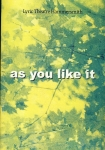 AS YOU LIKE IT Lyric Theatre Hammersmith Programme 2000 UNA STUBBS refb1528