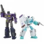 Hasbro Transformers Generations Selects Deluxe WFC-GS17 Shattered Glass Ratchet and Optimus Prime Action Figure 2 Pack from Zavvi UK