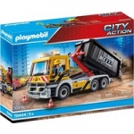 Playmobil City Action Construction Truck with Tilting Trailer from 365games.co.uk