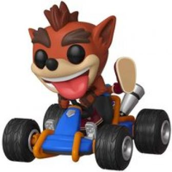 Crash Bandicoot Crash Team Racing Funko Pop Rides Figure #64 from 365games.co.uk